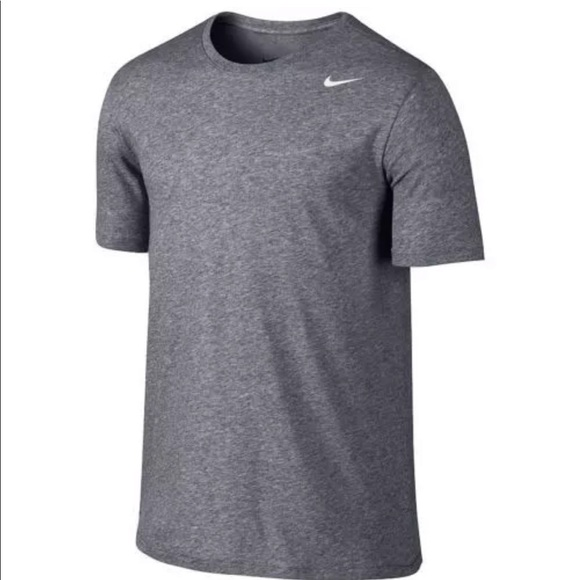 Nike Other - Nike Dri-Fit Solid Tee 706625 091 Grey